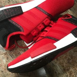 Adidas Men's NMD Scarlet Red R1 SZ 12 Japanese Cor